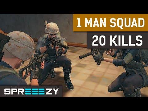 PUBG 1 MAN SQUAD 20 KILL BOMB!