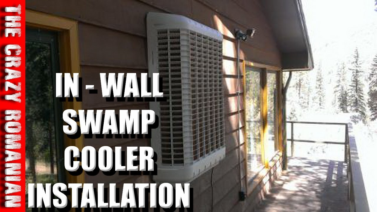 How to install a GARAGE SWAMP COOLER Wall UNIT