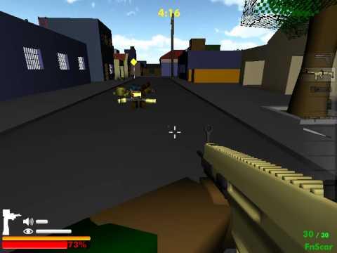 майнкрафт зомби блоки 3d скачать игру