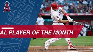 Mike Trout named AL Player of the Month for September