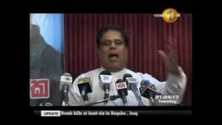 It is very difficult to correct this within the preferential voting system - Nimal Siripala de Silva
