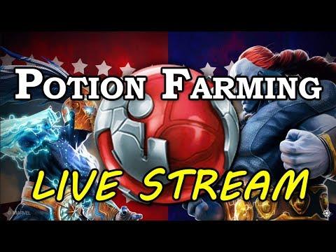 The Sunday Potion Farm | Marvel Contest of Champions Live Stream