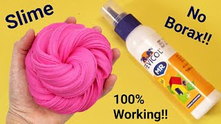 how to make slime with fevicol fevicol slimeno borax! no activator!1000% Working real slime recipe