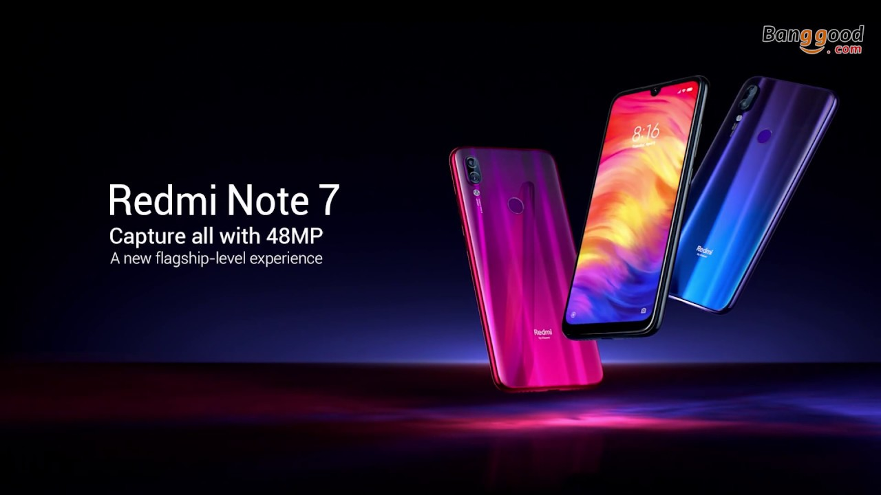 Xiaomi Redmi Note 7 Global Version 6 3 inch 3GB RAM 32GB ROM Snapdragon 660  Octa core 4G Smartphone