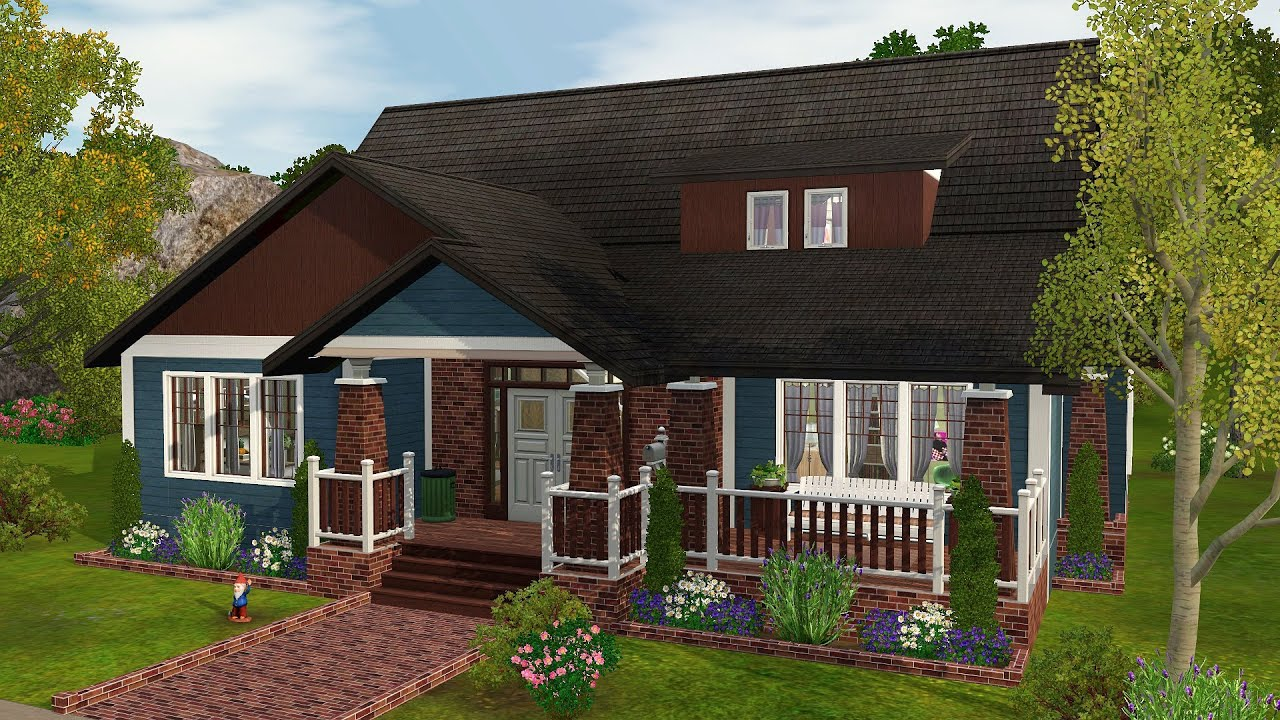 Mansion Floor Plans Sims 3 The Sims 3 Speed Build Meadow Retreat Youtube