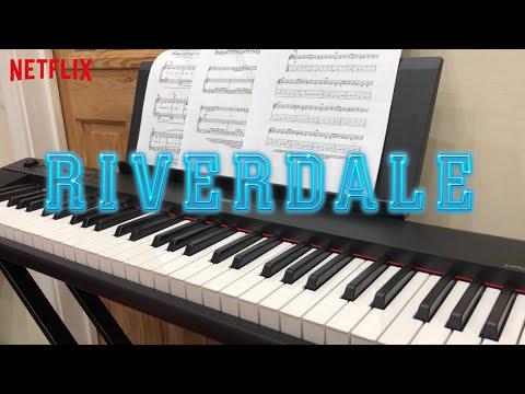 RIVERDALE THEME SONG Season 3 | Piano Cover | Closing Credits | Blake Neely | Netflix