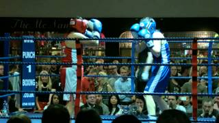 White Collar Boxing London WCBL - Hannah Marshall Vs Lisa Bee