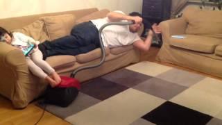 Funny Lazy dad