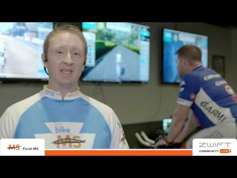 Bike MS Zwift 70 Ride to benefit the National Multiple Sclerosis Society, Sun Mar 26th 2017
