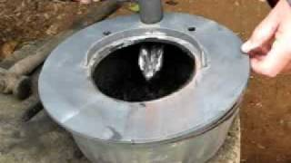 Drip Feed Waste Oil Heater, Pan and Lid