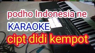 Download Lagu Podho Indonesia ne karaoke campur sari koplo tanpa vocal cover mp3