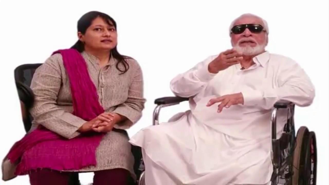 Kader Khan Family With Wife, Son Sarfaraz And Shahnawaz ... Kader Khan Wife