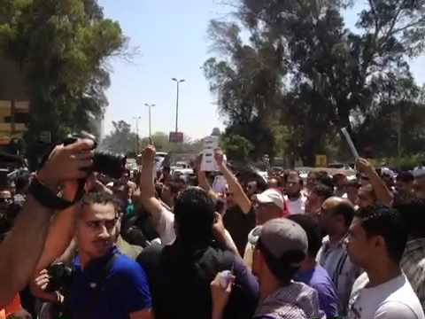 Protests at the Saudi embassy in Cairo