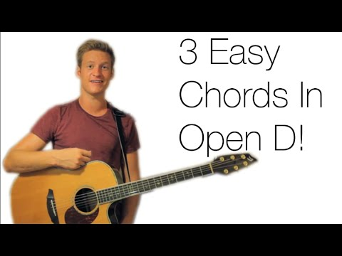 Guitar guitar chords in open d : 3 EASY CHORDS IN OPEN D TUNING! - YouTube