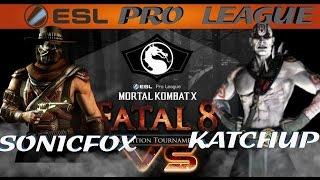 Mortal Kombat X: Fatal 8 - Sonicfox vs Katchup (Round 1)