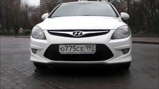 Hyundai i30 1,6 л 2011 год. Обзор Тест драйв Ремонт Запчасти смотреть