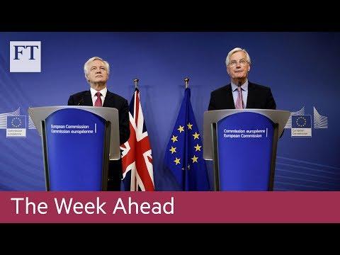 Brexit negotiations, Netflix earnings