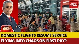 Flights Cancelled Across India On First Day Of Resuming Service | News Today With Rajdeep