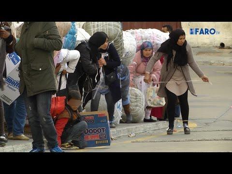 Vidas rotas de la frontera de Ceuta