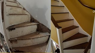 Renovating a 160 year old staircase