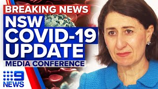 NSW records two COVID-19 deaths and 141 new local cases | Coronavirus | 9 News Australia