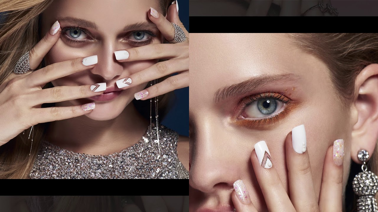 Better Than An Acrylic Mani Bold Nail Designs From Kiss Youtube
