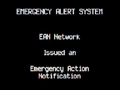 Emergency Alert System - Nuclear Bomb Attack.