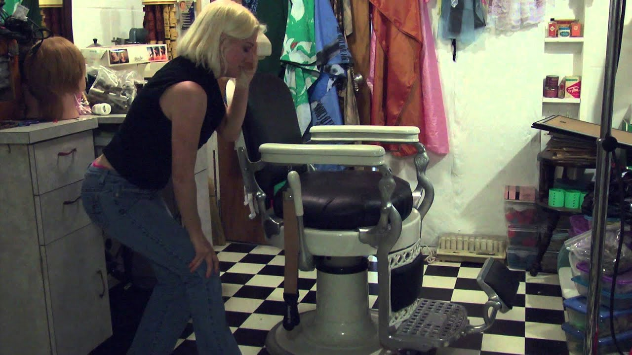 Shows you how to operate your vintage antique barber chair youtube