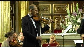 Vivaldi: Violin Concerto A minor, Allegro,Largo,Presto,RV356