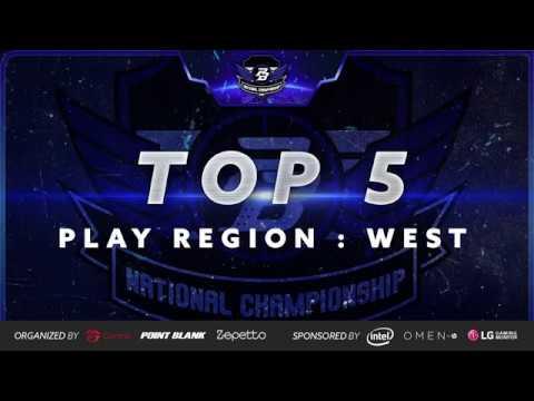 TOP 5 Play : West Region