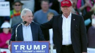 Trump: Wouldnt have chosen Sessions knowing he'd recuse thumbnail