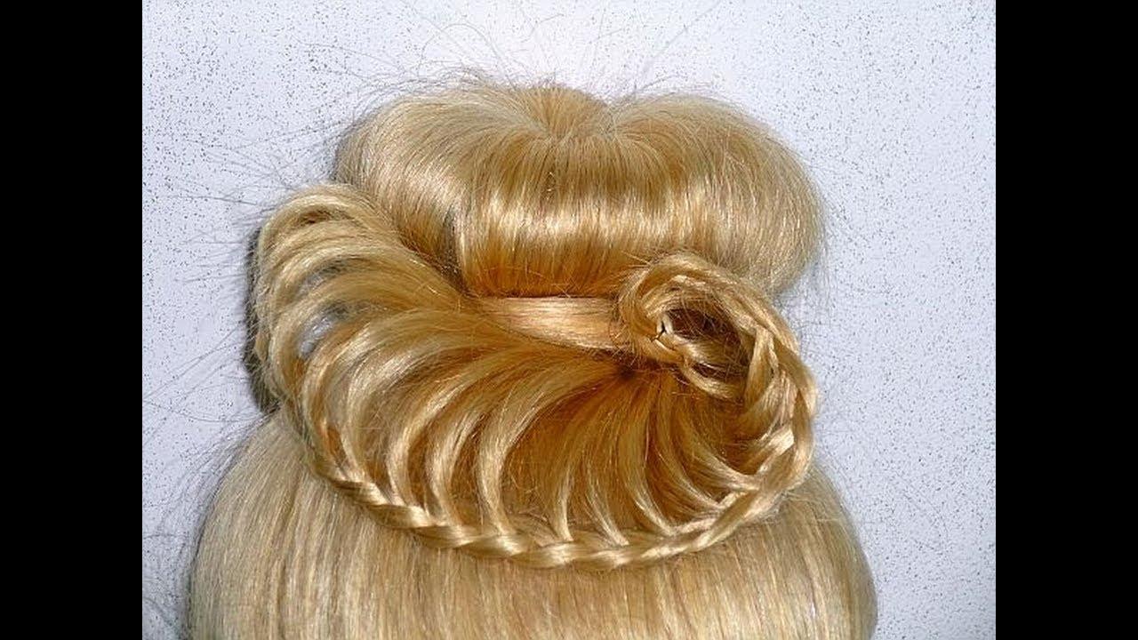 Einfache Frisur Fur Mittel Langes Haar Fur Besondere Anlasse