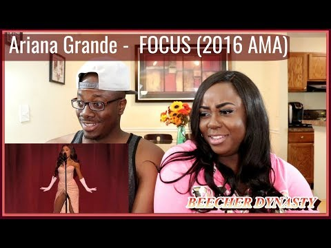 Ariana Grande - Focus (American Music Awards) 2015 |Couple Reacts