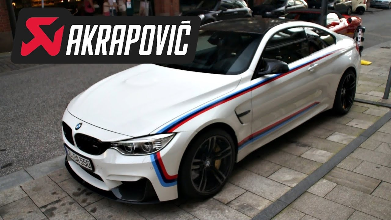 600hp akrapovic bmw m4 loud revs and acceleration youtube. Black Bedroom Furniture Sets. Home Design Ideas