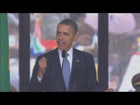 Mandela memorial service: President...