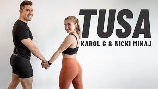 Baixar TUSA - Karol G, Nicki Minaj   Rutina de EJERCICIOS