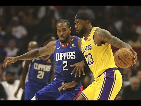 NBA 2019-2020, L.A.Lakers - L.A.Clippers, Л.А.Лейкерс - Л.А.Клипперс, 22.10.2019