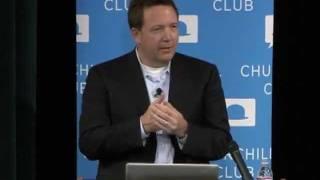 Federal CIO Steven VanRoekel at Churchill Club on 10-25-11