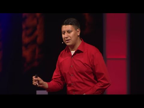 Through the eyes of a child immigrant | Erik Gomez | TEDxPSU