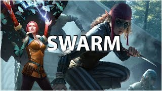 Gwent: The Witcher Card Game - Scoia'tael Elf Swarm Buff deck - Brouver Hoog Gameplay