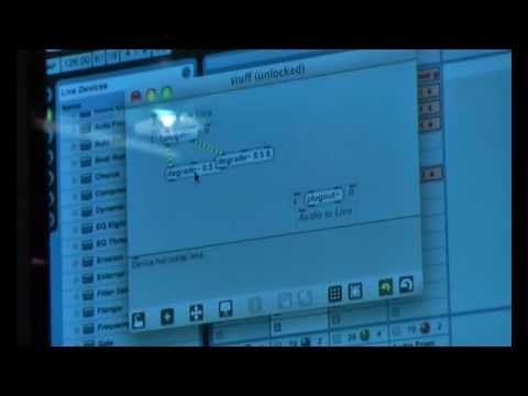 Max For Live: Max/MSP in Ableton Live preview
