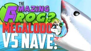 TUBARÃO GIGANTE vs NAVE ESPACIAL - Amazing Frog