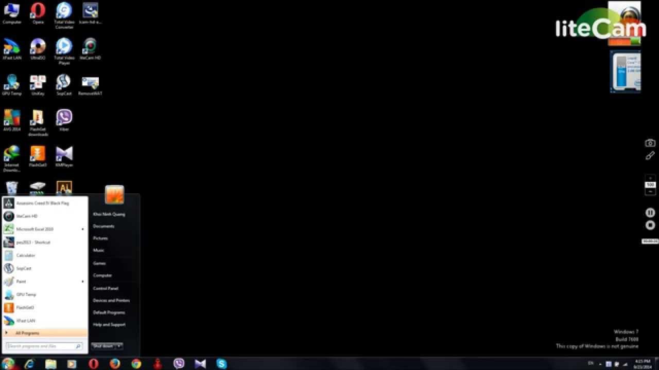 Cách sửa lỗi màn hình đen của Windows 7 – Fix not genuine Windows 7