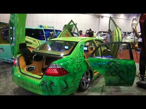 Middle East Motor Tuning Show 2017 Car Display Walk Around