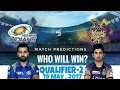 Qualifier 2 | MI vs KKR match IPL 10 Finals who will win the match | Mumbai Indians Winners