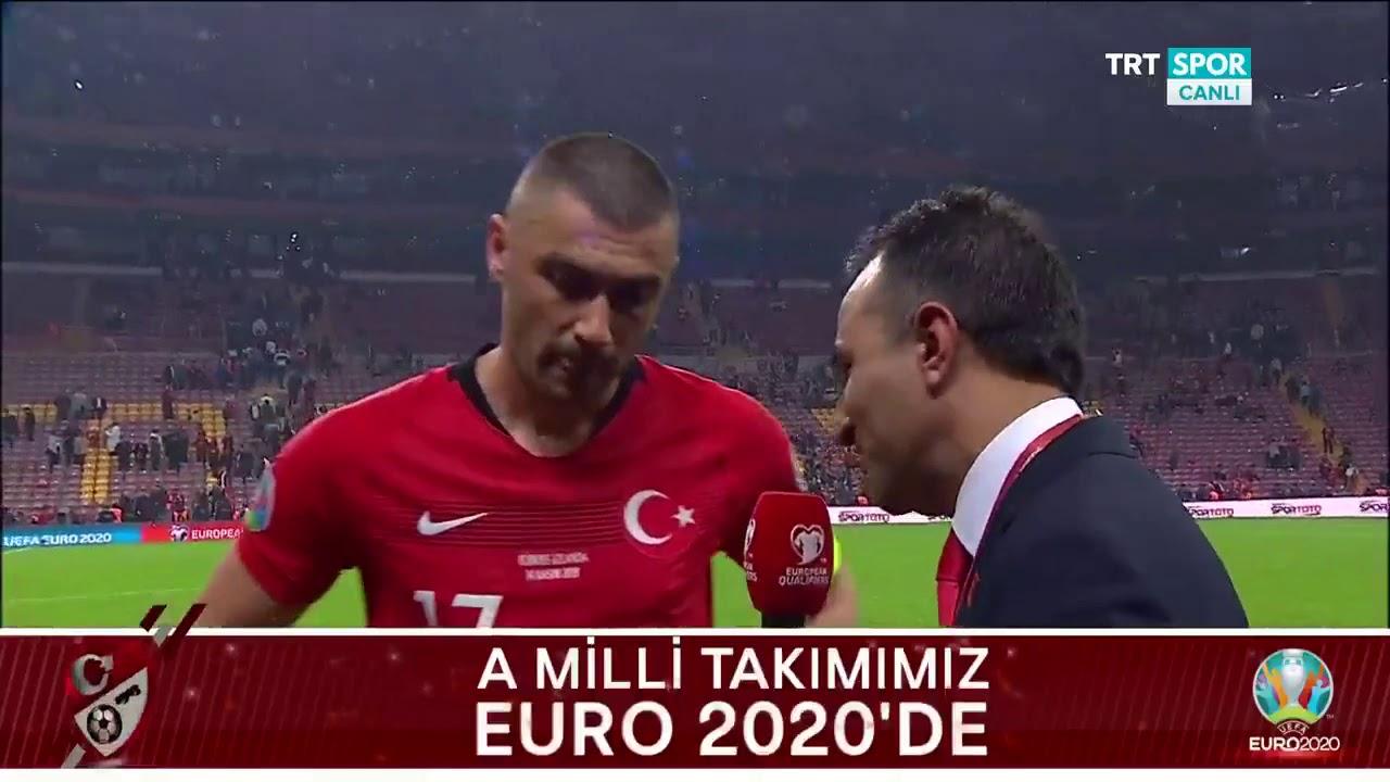 Milli Futbolcularımız Burak Yılmaz ve Merih Demiral'ın Maç Sonu Açıklamaları