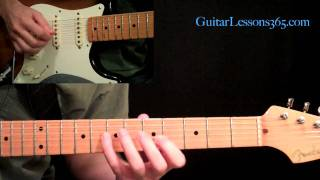 Fast And Easy Country Guitar Cascades Guitar Lesson - Lick Of The Week - Albert Lee - Brad Paisley