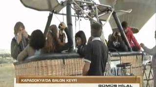 Royal Balloon - Cappadocia on TRT (National TV of Turkey)