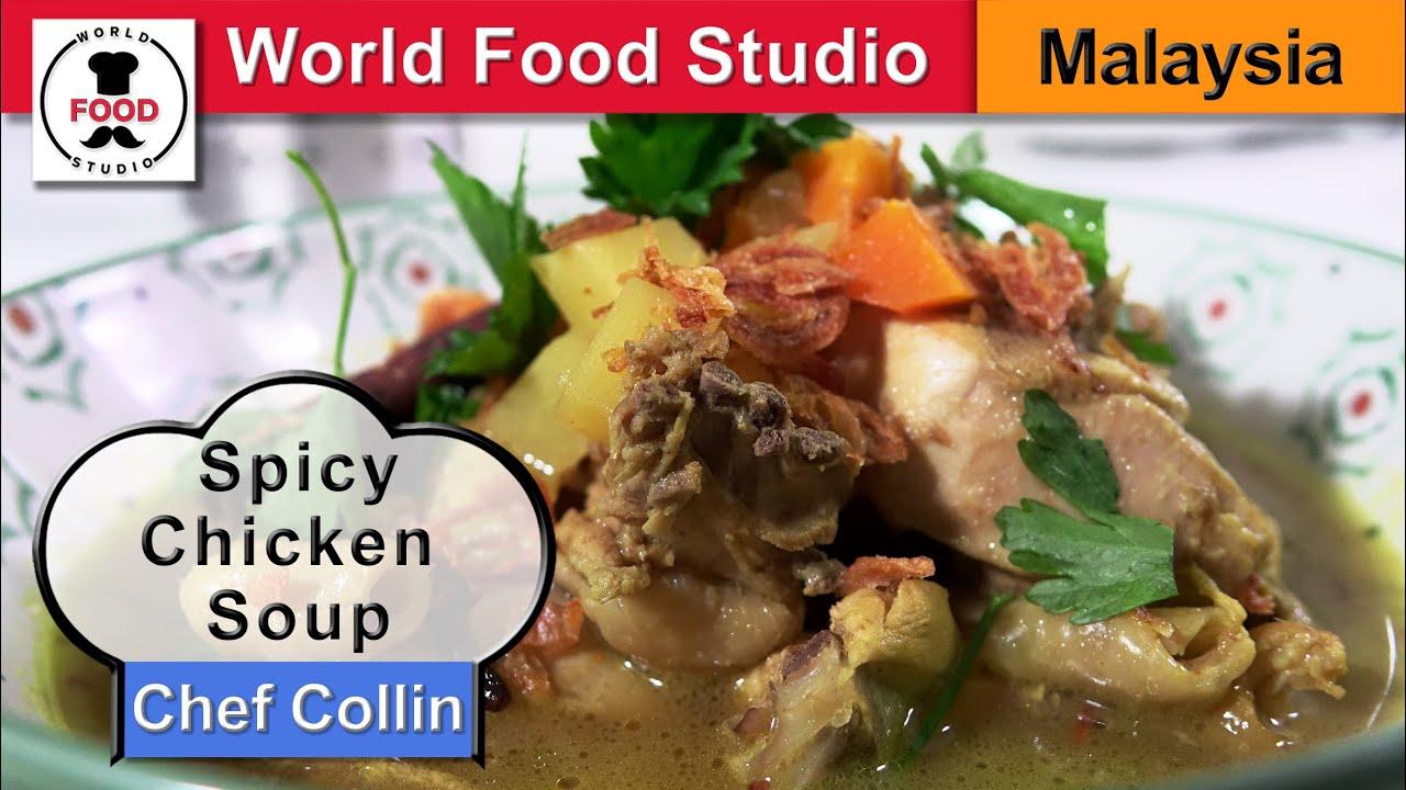 ayam resepi  ayam berempah mamak Resepi Sup Kaki Ayam Ala Thai Enak dan Mudah