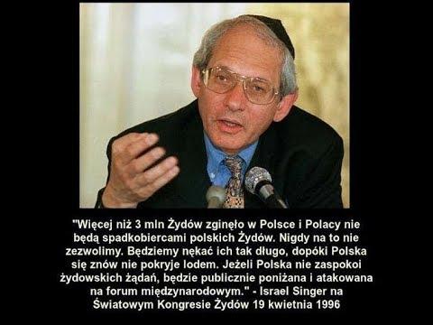 Bez prawa do spadku Izrael chce dostać pieniądze , ziemię w Polsce